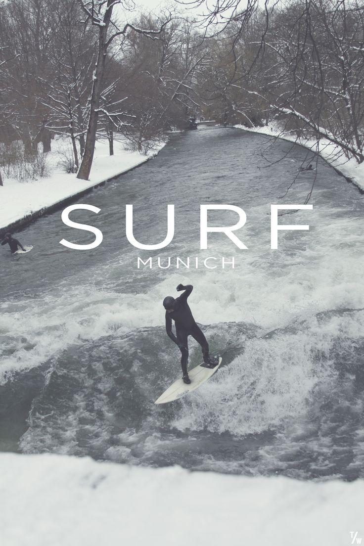 #LL @lufelive #Surfing River Surfing, Munich Germany