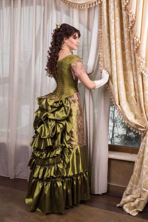 30% OFF Valentine's day SALE Victorian walk costume. Made to order