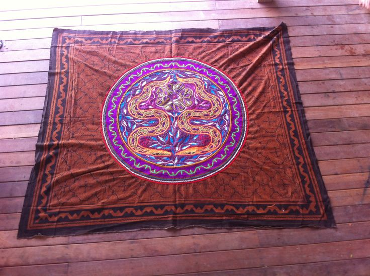 Shipibo Ceremonial cloth,Shipibo Tapestry,Ayahuasca Ceremony, Shamanic Cloth,Heart of Ayahuasca (LSG) by Shakruna on Etsy