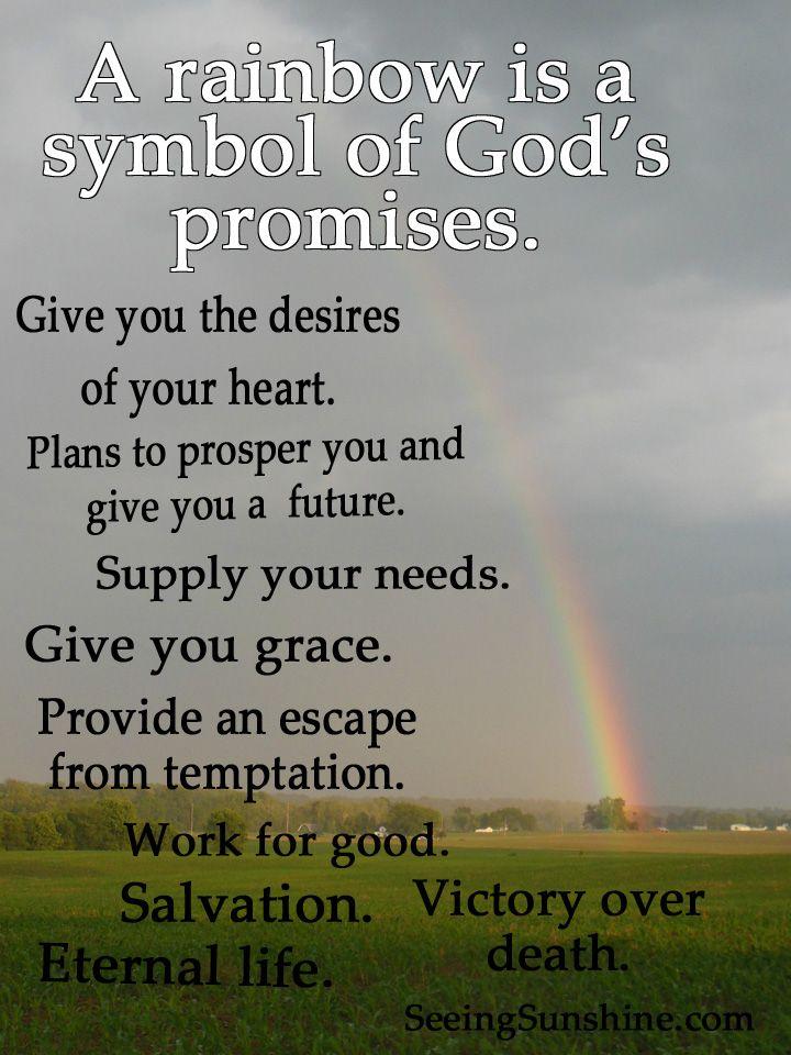 257 Best Rainbow Gods Promise Images On Pinterest Gods Promises