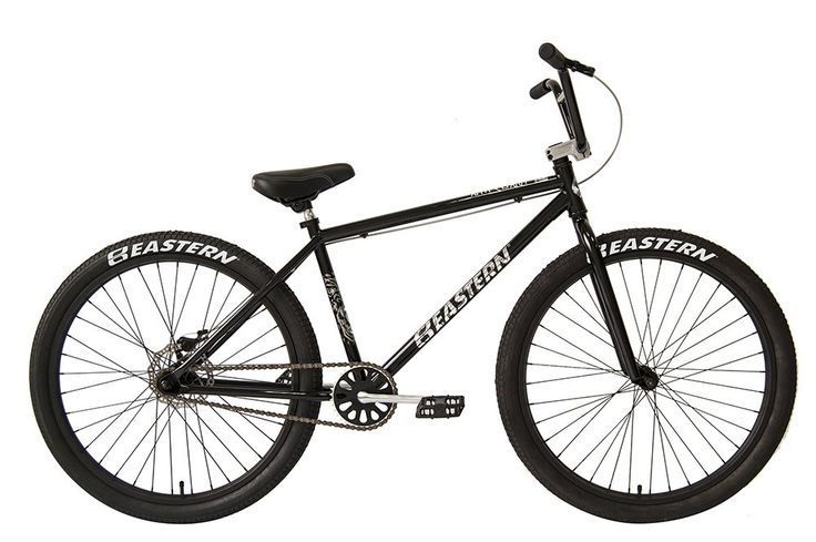 "Eastern Bikes Growler BMX Bicycle, Gloss Black, 26""/One Size. Comfort and Leisure bike from Eastern Bikes. Easy riding to the store or around the greenways. Looks and rides good without having to rob a bank. Disc brakes !! Did we mention DISC BRAKES !!. For Adults of all ages as long as your over 13."