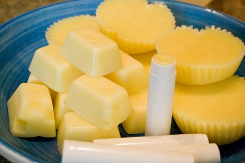 recipe for homemade lotion bars, similar to Made On bars.