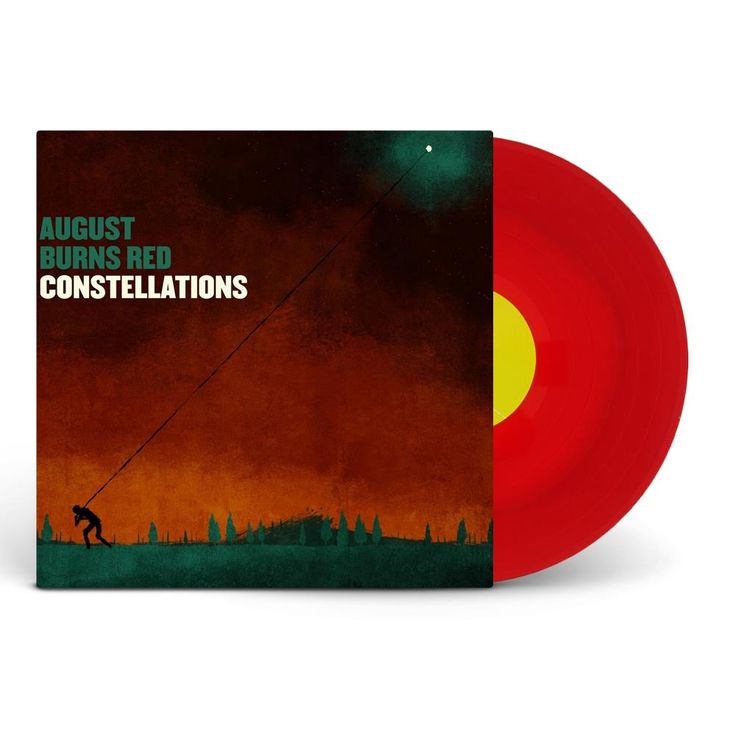 "August Burns Red ""Constellations"" Red/Orange Vinyl 