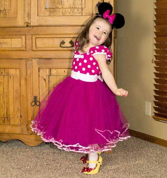 MINNIE MOUSE dress TUTU  Party Dress  in by loverdoversclothing, $58.00