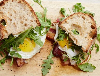 The ultimate egg sandwich from Chef Zoe Nathan of Huckleberry fame. We tried it out over at the goop Cookbook Club.