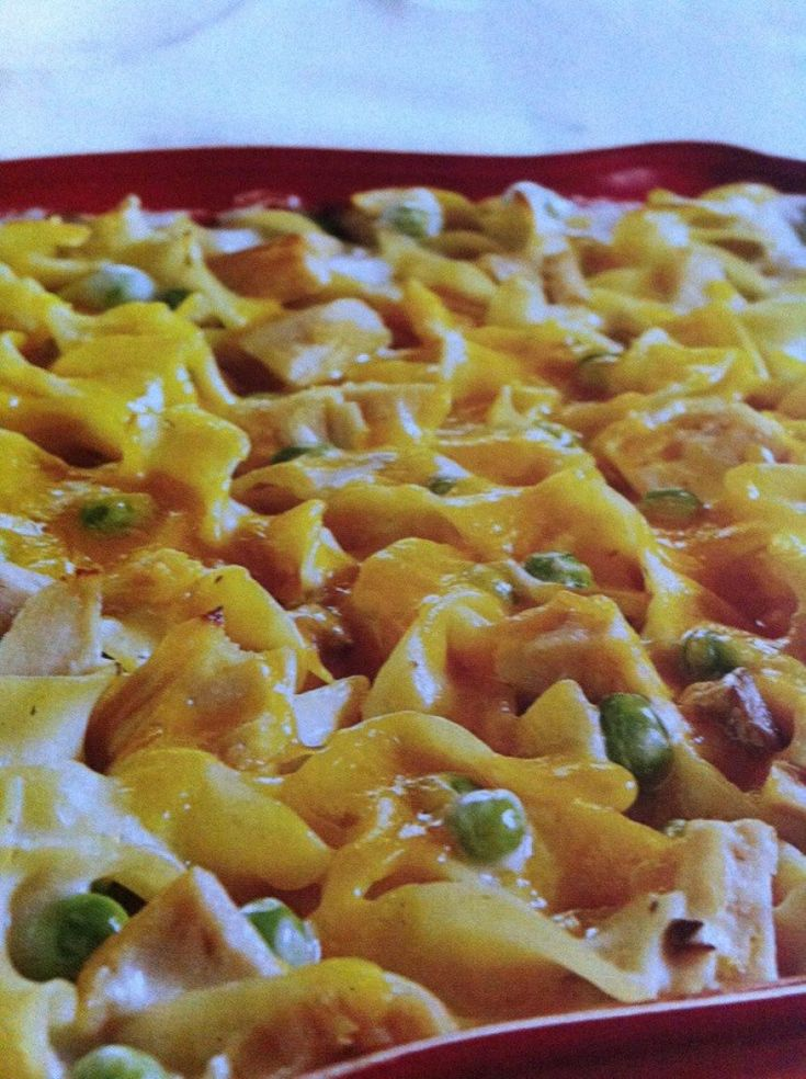 Weight Watchers Tuna Noodle Casserole**********Sounds closest to old receipe