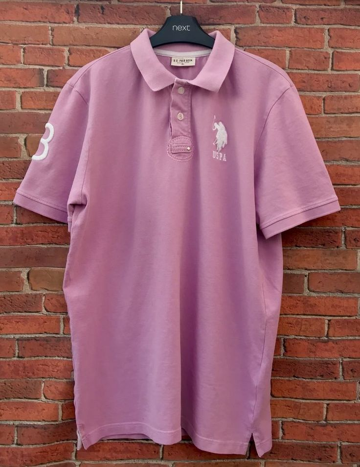 mens Polo Shirt XL Us Polo Assn Since 1890  number 3 on   horse  casual smart