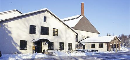 The Finnish Glass Museum is located in Riihimäki.