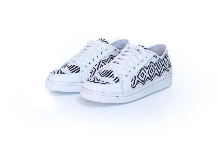 Sneaki Moki  #sneaker #shoes #fashion #tosca #pattern #cute #handmade