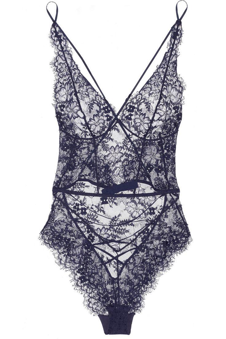 Agent ProvocateurCathie lace bodysuit