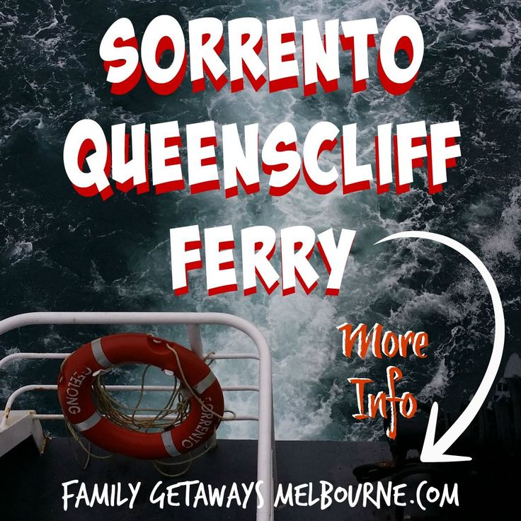 Cruise from Sorrento to Queenscliff or from Queenscliff to Sorrento. Across the 'Heads' at the mouth of Port Phillip Bay. Load the kids and the dog and head on off for a great Day Trip from Melbourne.