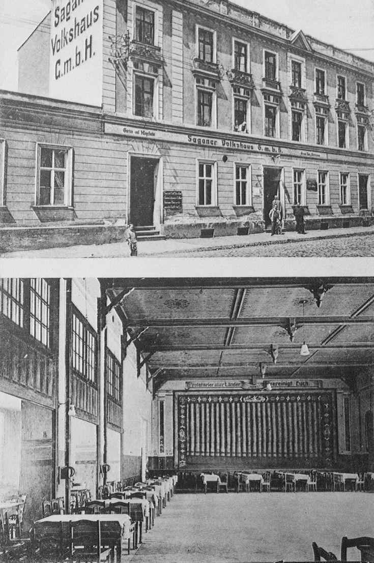 ul. Pstrowskiego Wincentego, Żagań - 1915 rok, stare zdjęcia
