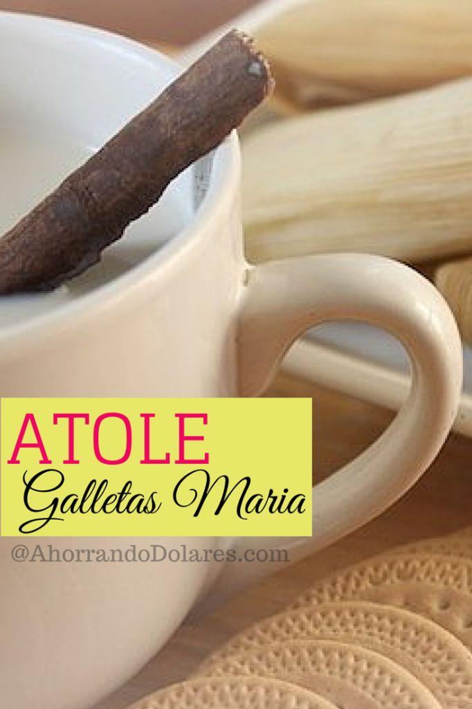 Atole-Galletas-Maria