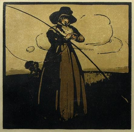 Fishing (May) by William Nicholson