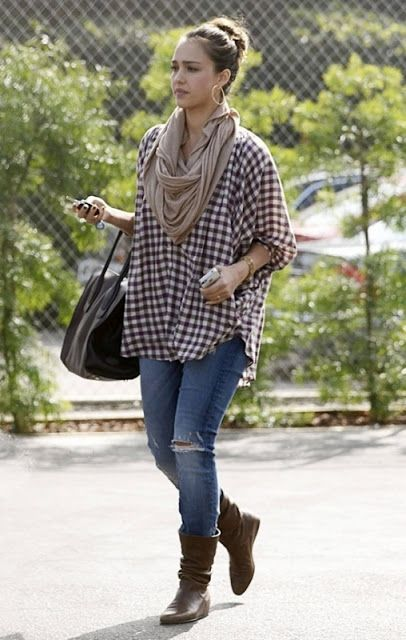 Street Style Jessica Alba Jessica Alba Style Pinterest Style Combat Boots And Blankets