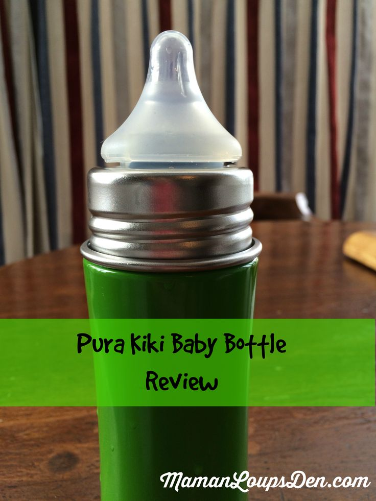 Pura Kiki Baby Bottle review: plastic-free feeding system for your little one!
