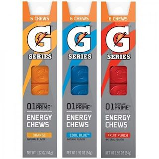 Gatorade Chews - Running Fuel! These are good.