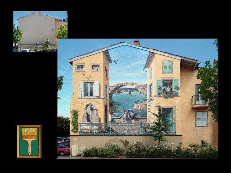 Graffiti Aka Trompe Lu0027oeil!