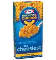 Kraft macaroni and cheese - macaroni au fromage