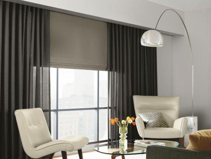 39 best Rideau images on Pinterest Window dressings, Curtain ideas - store pour fenetre interieur