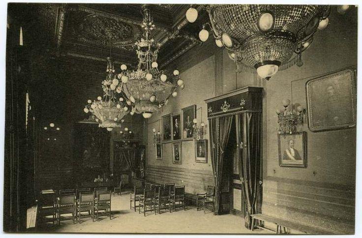 Visor Archivo General Región de Murcia. FOT_POS,09/068 / Sala de Sesiones del Ayuntamiento de Cartagena.
