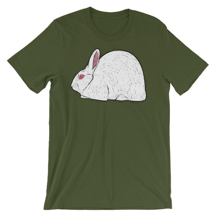 Florida White Rabbit Unisex T-Shirt