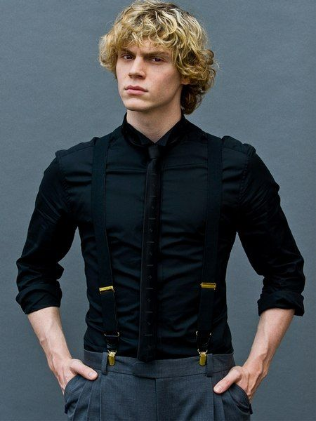 Alive Magazine by Eric Williams - LQ - Evan Peters Gallery