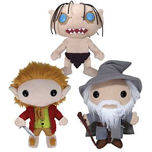 """I own the Gandalf plush, looks good on your bed. If you want one buy the Gandalf, you can set it in your doorway with a card that says, """"YOU SHALL NOT PASS!"""" (did it)."""