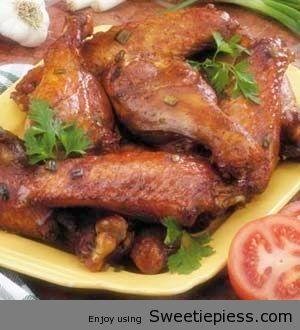 Baked Turkey Wings Recipe