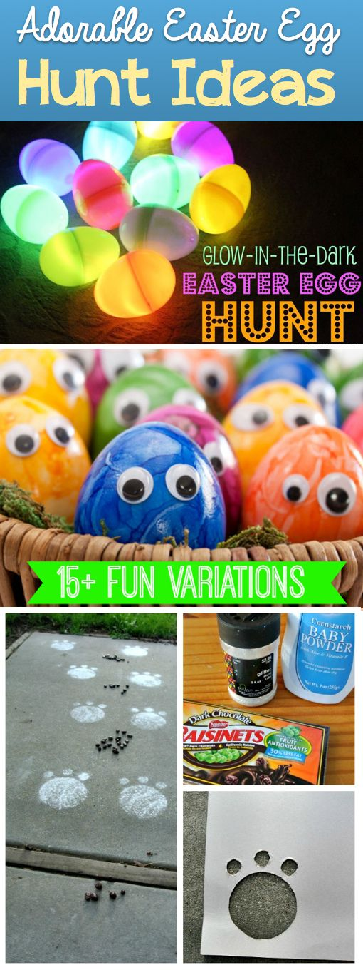 Adorable Easter Egg Hunt Ideas That Your Children Will Definitely Love - Click on the picture to see all the ideas! :)