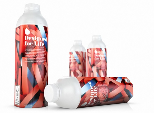 The Tetra Evero Aseptic Separable Top has a perforation in the cardboard which allows the separating of the polyethylene top from the carton sleeve, delivering improved environmental characteristics by making it easy for consumers to separate the top and carton sleeve and recycle them separately.