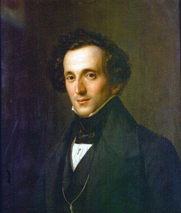 Félix Mendelssohn-Bartholdy (1809-1847), compositeur allemand, l'une des figures dominantes du romantisme du début du XIXe siècle en Europe.