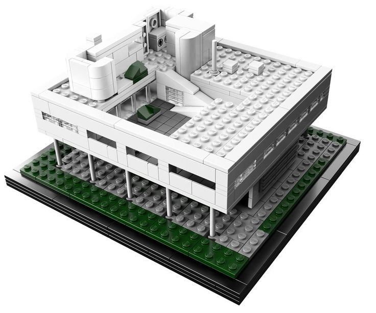 Amazon.co.jp | レゴ アーキテクチャー サヴォア邸 21014 | おもちゃ 通販