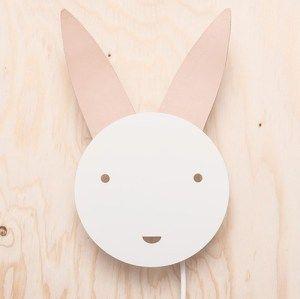 Bunny Lampa Vit