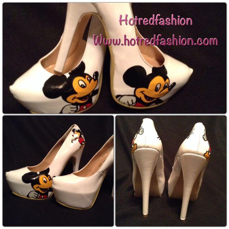 Mickey pumps heels