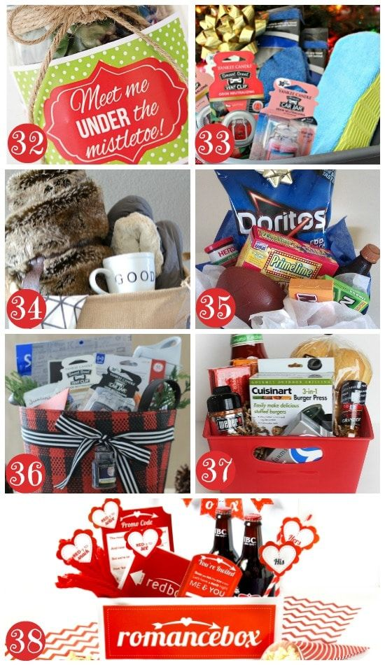 More Christmas Gift Basket Ideas for Men - Christmas Gift Basket Ideas For Everyone Crafts Ideas Pinterest