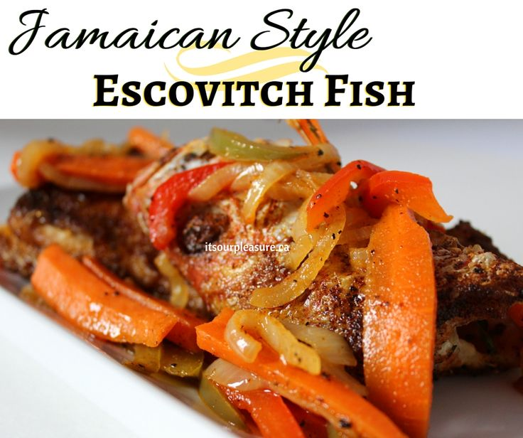 Jamaican Style Escovitch Fish is a tradition for Good Friday and Easter in my household and Jamaican households everywhere! This is my mother's recipe and a must share.