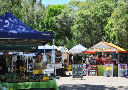 noosa farmers market on a sunday morning, BEST FOOD EVER