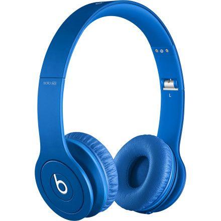 Solo HD Monochromatic On Ear Headphone in blue by Beats by Dr. Dre. http://www.zocko.com/z/JEcnk