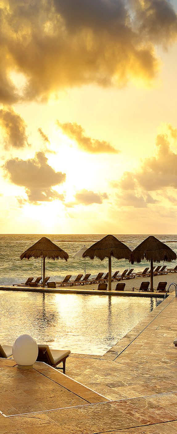 Hotel sandos cancun luxury experience resort marf travel vacation - Sunrise At The Westin Resort Spa Cancun