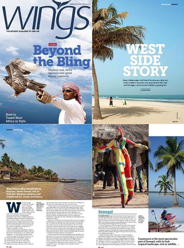 Overlanding West Africa in Arik Air magazine October 2014!