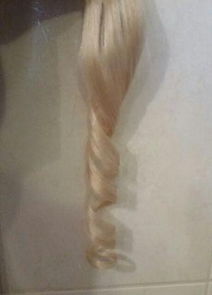 Kaufe meinen Artikel bei #Kleiderkreisel http://www.kleiderkreisel.de/kosmetik/haarpflege-zubehor/127824348-unbenutzte-echthaar-clip-in-extensions-in-hellblond