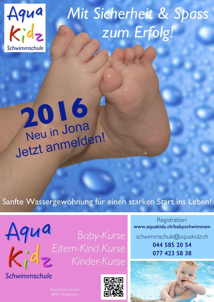 Für unsere Kleinsten jetzt auch in Rüti - fortlaufende AquaBaby1 und AquaBaby2-Kurse