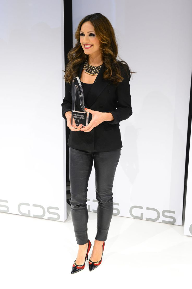 Nazan Eckes attends Shoe Woman awards of the Year 2014