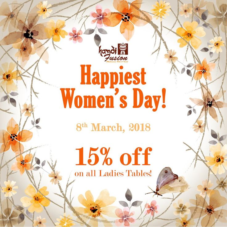 Wishing everyone a very Happy Women's Day!  This Women's Day, come down to Handi Fusion and avail 15% Off (only on all Ladies table)  ______ #handifusion #happywomensday #womensday #womensday2018 #handirestaurant #jaipur #jaipurfoodies #jaipurfoodlovers #igersjaipur #foodies #offer #restaurant #jaipurcity #pinkcity #jaipur_diaries #jaipurigers #teamdemeg #foodporn #foodlove #instafood #eatgoodfood