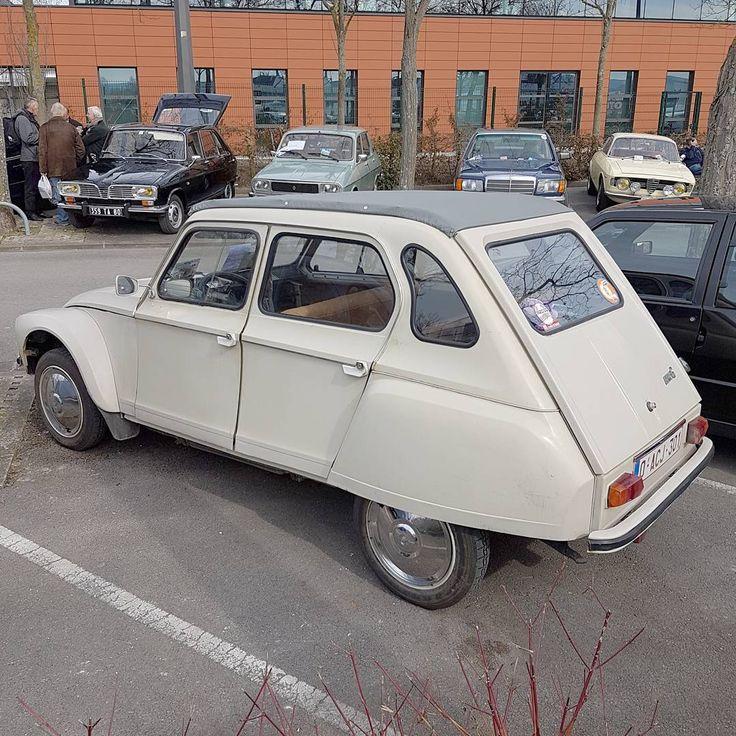 """885 Likes, 20 Comments - Ⓒhristian (@astonuts) on Instagram: """"Citroën Dyane 6 #astonutskiffelesDyane . Une jolie Dyane avec des enjoliveurs de GS Pallas. Mais de…"""""""