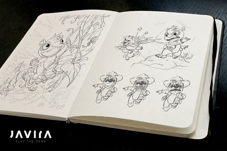 Early concept sketches for TIMO | Developer blog