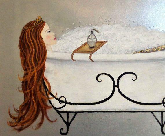 Zeemeermin badkamer doek Wrap Acryl schilderij zeemeermin muur