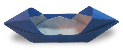 Origami Twin Boat