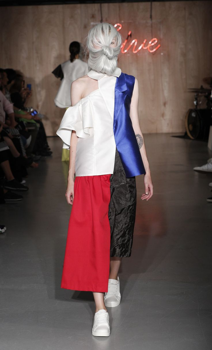 Kingston University postgraduate fashion student Greta Torresi's work on the…